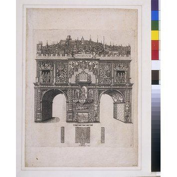 Print - A Triumphal arch