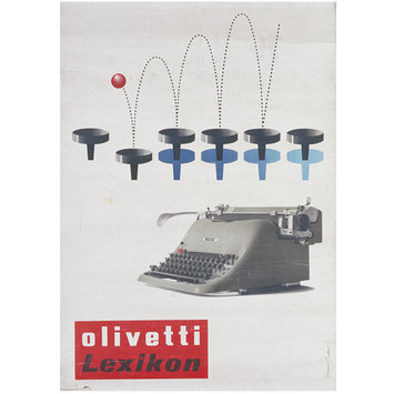 Poster - Olivetti Lexikon
