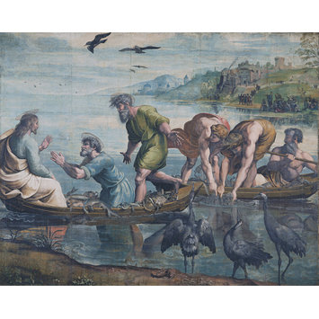 Painting - The Miraculous Draught of Fishes (Luke 5: 1-11)