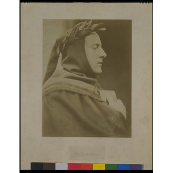 Photograph - John Everett Millais as Dante