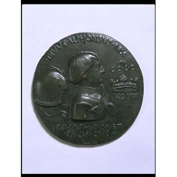 Medal - Alphonso of Aragon, King of Naples