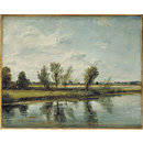 Water-meadows near Salisbury (Oil painting)
