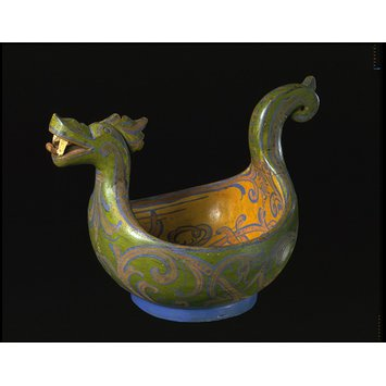 Ceremonial drinking bowl
