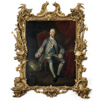 Painting - George III when Prince of Wales