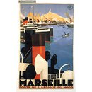 Marseille Porte de l'Afrique du Nord (Poster)