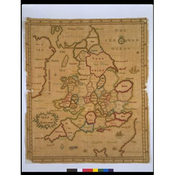 Sampler - Map of England