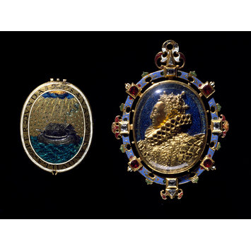 Locket - The Heneage Jewel; The Armada Jewel
