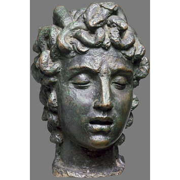 Statuette - Head of Medusa