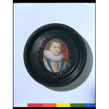 Portrait miniature - James I