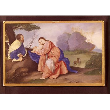 Miniature - The Rest on the Flight into Egypt