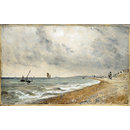 Hove Beach, with Fishing Boats (Oil)