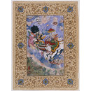 Krishna's combat with Indra (Painting)