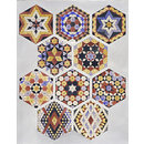 Designs for tiles in Islamic style (Design)