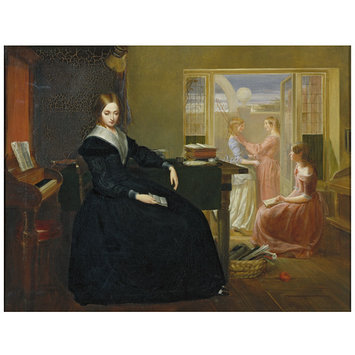Oil painting - The Governess