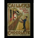 Cailler's Genuine Swiss Milk Chocolate (Poster)