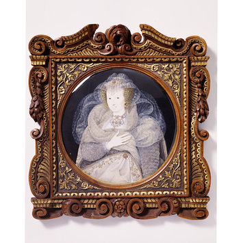 Portrait miniature - Unknown woman, formerly called Frances Howard, Countess of Somerset