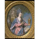 Mary Ann Yates as Electra in Voltaire's Orestes (Portrait miniature)