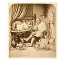 Don Quixote in his Study (Photograph)