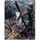 A Windmill near Brighton (Oil painting)
