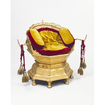 Throne chair - Maharaja Ranjit Singh's throne