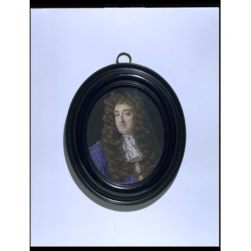 Portrait miniature - Charles North, 5th Baron North de Kirtling and Baron Grey de Rolleston