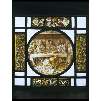 Roundel - Christ in the House of Simon