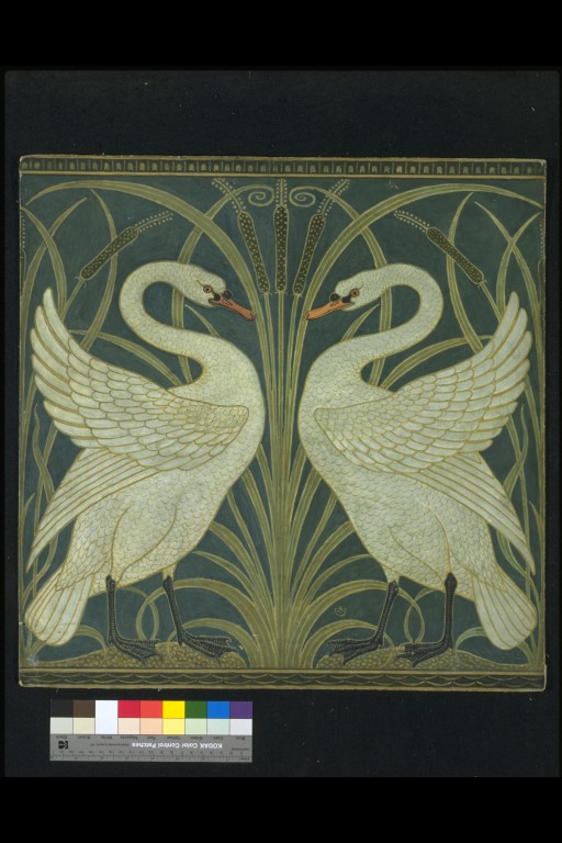 Swan Rush And Iris Crane Walter R W S V Amp A Search