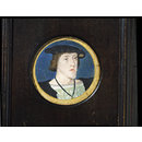 The Emperor Charles V (Portrait miniature)