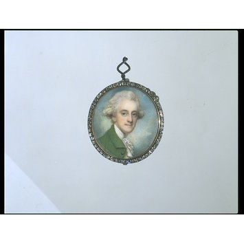 Portrait miniature - Frederick Ponsonby, 3rd Earl of Bessborough