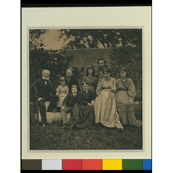 Photograph - The Morris and Burne-Jones families