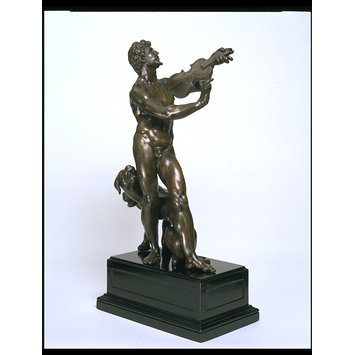 Statuette - Orpeus and Cerberus