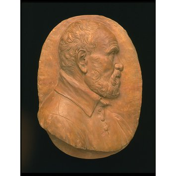 Relief - Self-portrait; Portrait of a Man