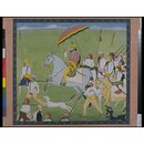 Raja Dhian Singh Hawking (Painting)