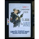 Gee!! I Wish I Were a Man. I'd Join The Navy (Poster)