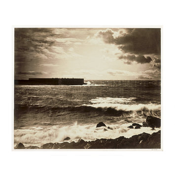 Photograph - The Great Wave, Sète