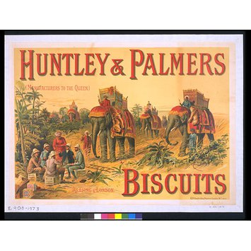 Poster - Huntley & Palmers Biscuits