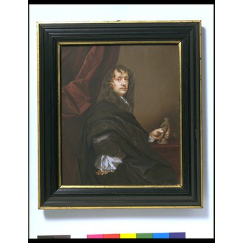 Portrait miniature - Sir Peter Lely