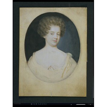 Portrait miniature - A Woman, perhaps Anne Palmer, Countess of Sussex