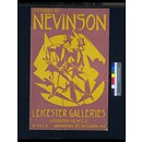 Pictures by Nevinson (Poster)