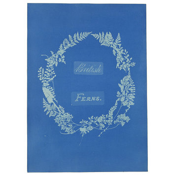 Photograph - Title page of British and Foreign Flowering Plants and Ferns