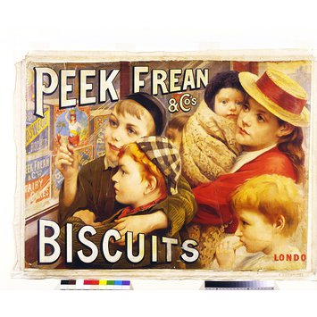 Poster - Peek, Frean & Co's Biscuits London