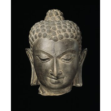 Figure - Head of the Buddha