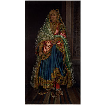 Oil painting - Native Lady of Umritsur