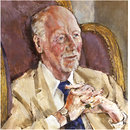 Sir John Gielgud (Painting)