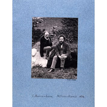 Photograph - Edward Burne-Jones & William Morris