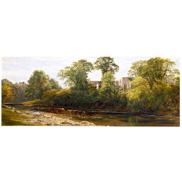 Oil painting - Bolton Abbey: Morning