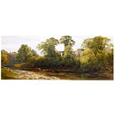 Bolton Abbey: Morning (Oil painting)