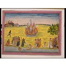Sati ceremony (Painting)