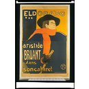 Eldorado... Aristide Bruant dans son Cabaret (Poster)