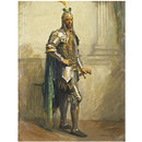 Herbert Beerbohm Tree as Othello in Othello by William Shakespeare (Painting)